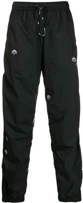 adidas by Alexander Wang drop-crotch track trousers