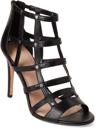 BCBGeneration Black Jenna Caged Pumps