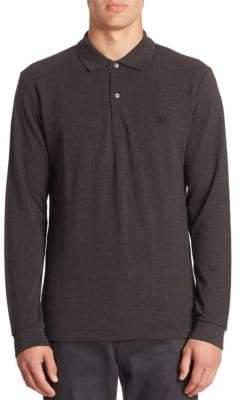 Burberry Long Sleeve Polo