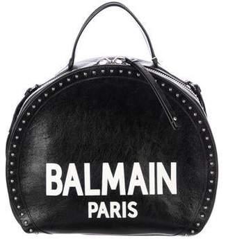 Balmain Logo Drum Bag w/ Tags
