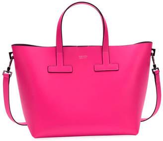 Tom Ford T Tote Mini Saffiano Leather Bag