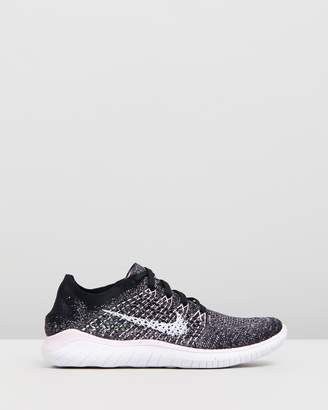 Nike Free Run Flyknit Running Shoes - Women's