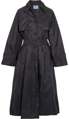 Prada - Belted Shell Trench Coat - Navy $1,030 thestylecure.com
