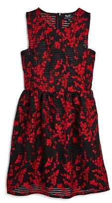 Bardot Junior Girls' Mercer Embroidered Mesh Dress - Big Kid