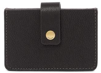 Fossil Mini Leather Tab Wallet