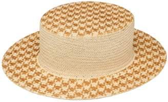 Alex Straw Boater Hat