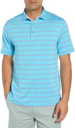 Bobby Jones Ferry Stripe Classic Fit Golf Polo