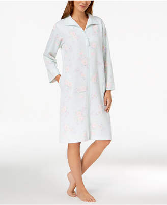 Miss Elaine Printed Zip Robe
