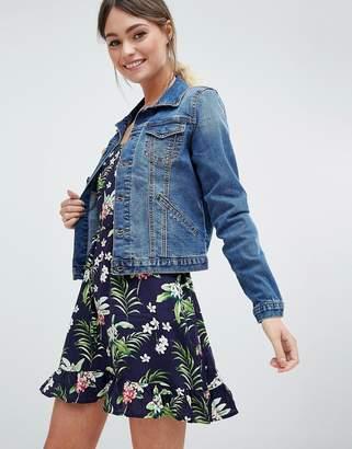 Oasis Seam Detail Denim Jacket