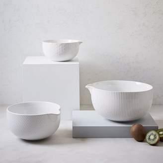west elm Textured Mixing Bowl Set