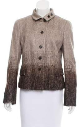 Akris Punto Wool & Mohair-Blend Ombré Jacket