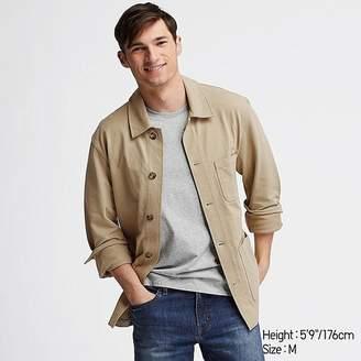Uniqlo Men's Washed Jersey Work Jacket