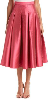Sachin + Babi Noir Silk-Blend Skirt