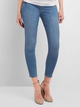 Gap Maternity Full Panel Favorite Ankle Jeggings