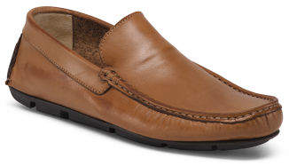 Men's Made In Italy Venetian Leather Loafers
