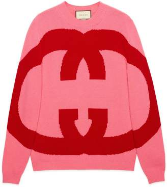 Gucci Wool sweater with Interlocking G