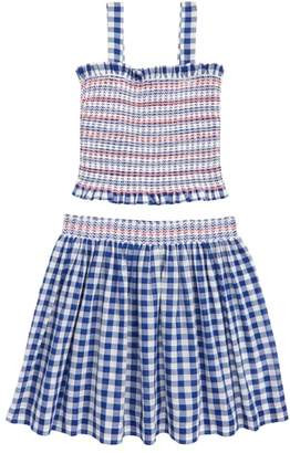J.Crew crewcuts by Gingham 2-Piece Dress