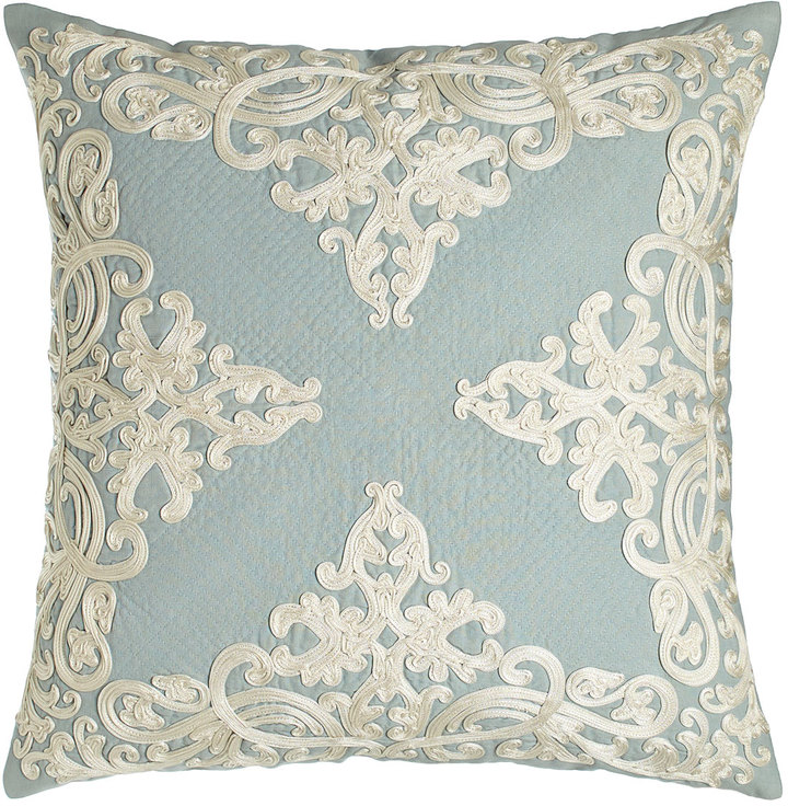 "Callisto Callisto Home Rienzo 22""Sq. Pillow with Quilting Detail"