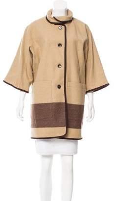 Woolrich Oversize Wool-Blend Jacket