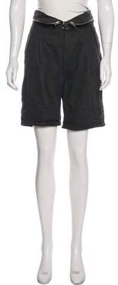 Isabel Marant High-Rise Knee-Length Shorts w/ Tags