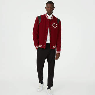 Club Monaco Varsity Patch Jacket