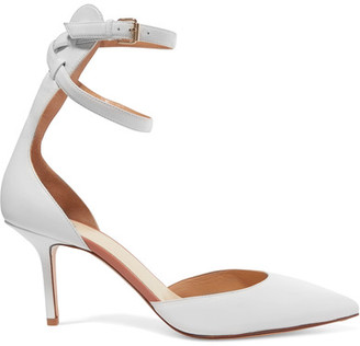 D'orsay Leather Pumps - White