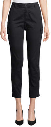 ATM Anthony Thomas Melillo Slim Straight-Leg Ankle Cargo Pants