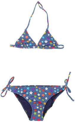 MC2 Saint Barth Star Rainbow Print Lycra Bikini