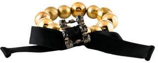 Marni Gold Bead Stretch Bracelet