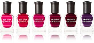 Deborah Lippmann - Very Berry Nail Polish Set - Red $36 thestylecure.com