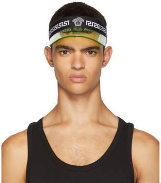 Versace Underwear Black Cap Visor