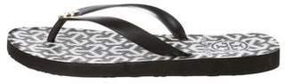 Tory Burch Rubber Thong Sandals