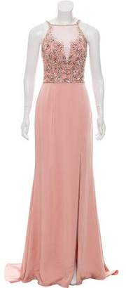 Jovani Embellished Sleeveless Gown w/ Tags