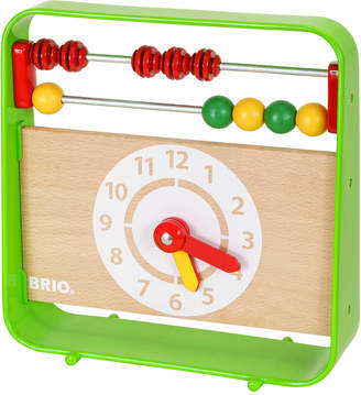 Brio Abacus With Clock