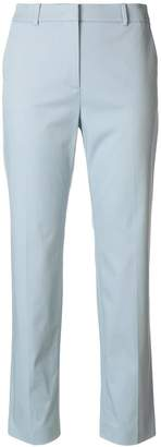 Mantu straight cropped trousers