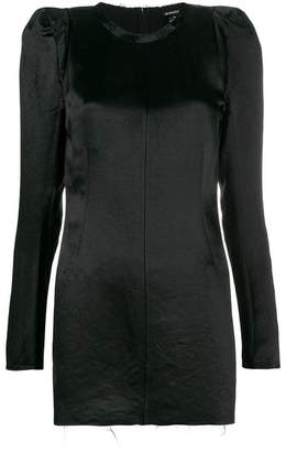 Ann Demeulemeester puffed shoulder dress