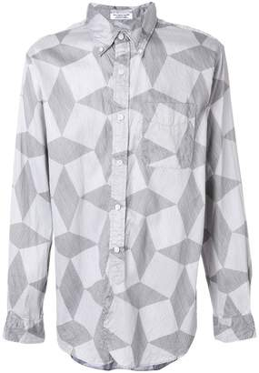 Engineered Garments abstract pattern shirt