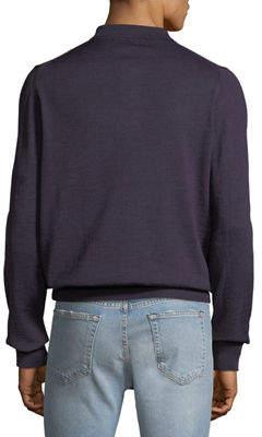 Neiman Marcus Men's Long-Sleeve Polo Shirt