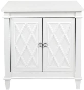Cafe Lighting Plantation Cabinet/bedside Table White