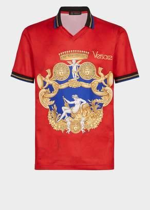 Versace Blasone Barocco Polo Shirt