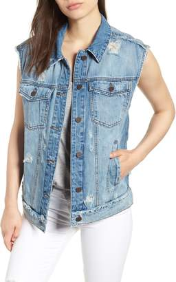KUT from the Kloth SWAT FAME Denim Vest