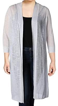Calvin Klein Women's Long Sleeve Duster Shrug