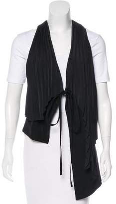 Sass & Bide Asymmetrical Pleated Vest