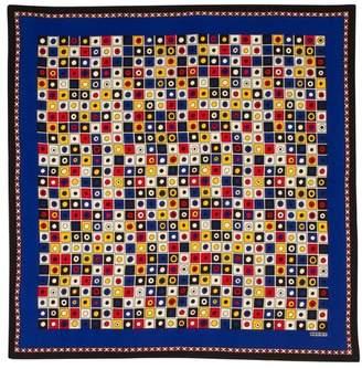 Pariscarves Rodier Nautical Flags Silk Square
