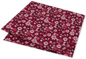 Tommy Hilfiger Men's Large Floral Conversational Pocket Square