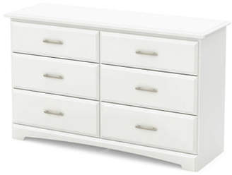 SOUTH SHORE Callesto Six-Drawer Double Dresser