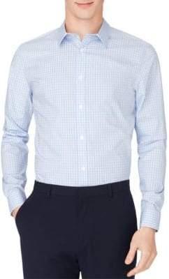 Calvin Klein Gingham Cotton Button-Down Shirt
