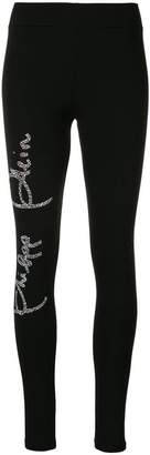 Philipp Plein Crystal leggings