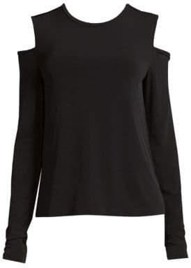 DKNY Cold Shoulder Top
