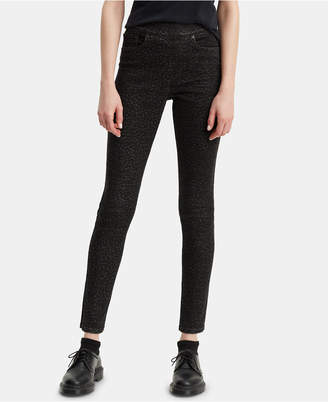 Levi's Cheetah Print Pull-On Jeans